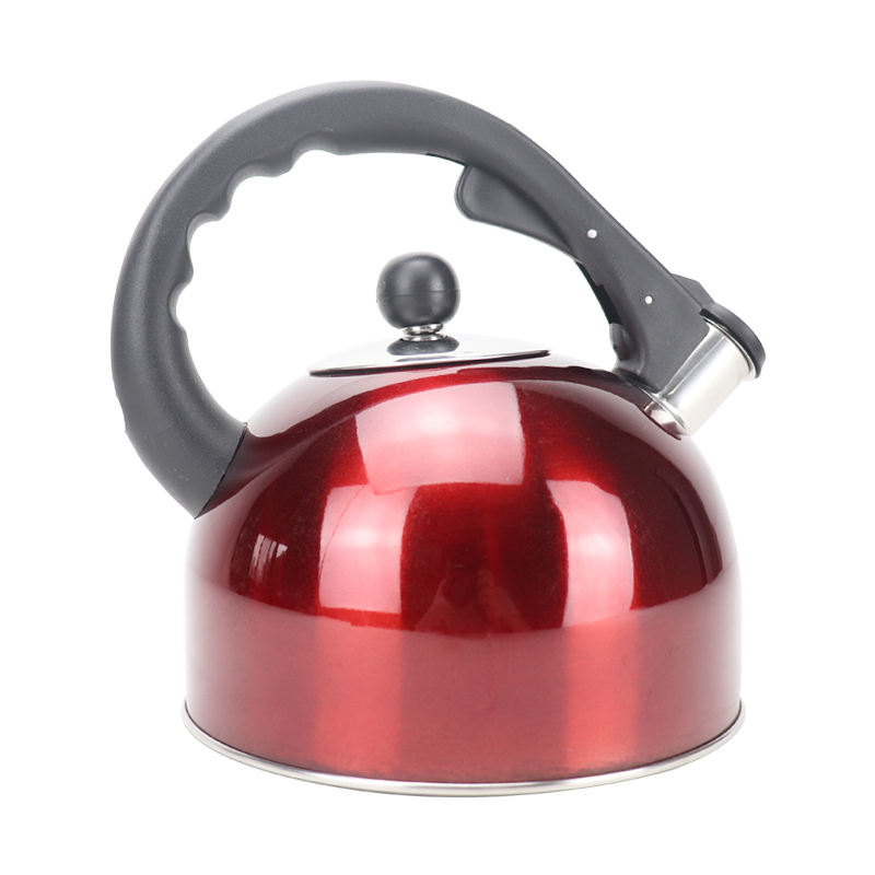 High-capacity Stainless Steel Whistling Tea Pot Kettle Free kitchen Appliances colorful capsule bottom Water Kettle