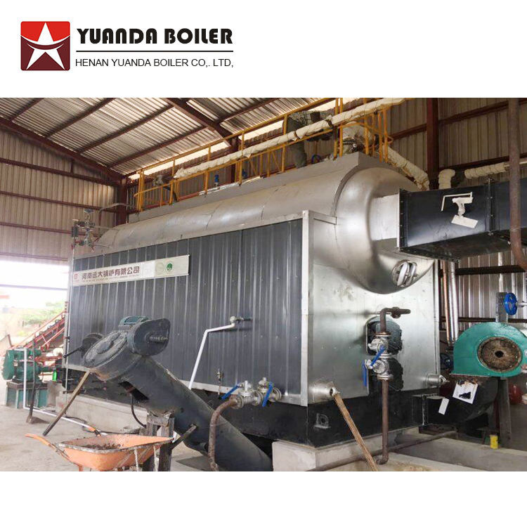 Hot Jual Horizontal Api Tabung Air Coke Dipecat Steam Boiler