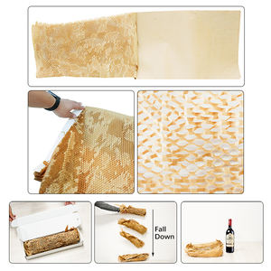 ALPS Size 50CM*50M Recyclable Honeycomb Paper honeycomb paper kraft wrapping cushioning paper