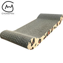 Factory Price OEM ODM cat scratch board  corrugated cat scratcher cat cardboard scratcher   with Catnip