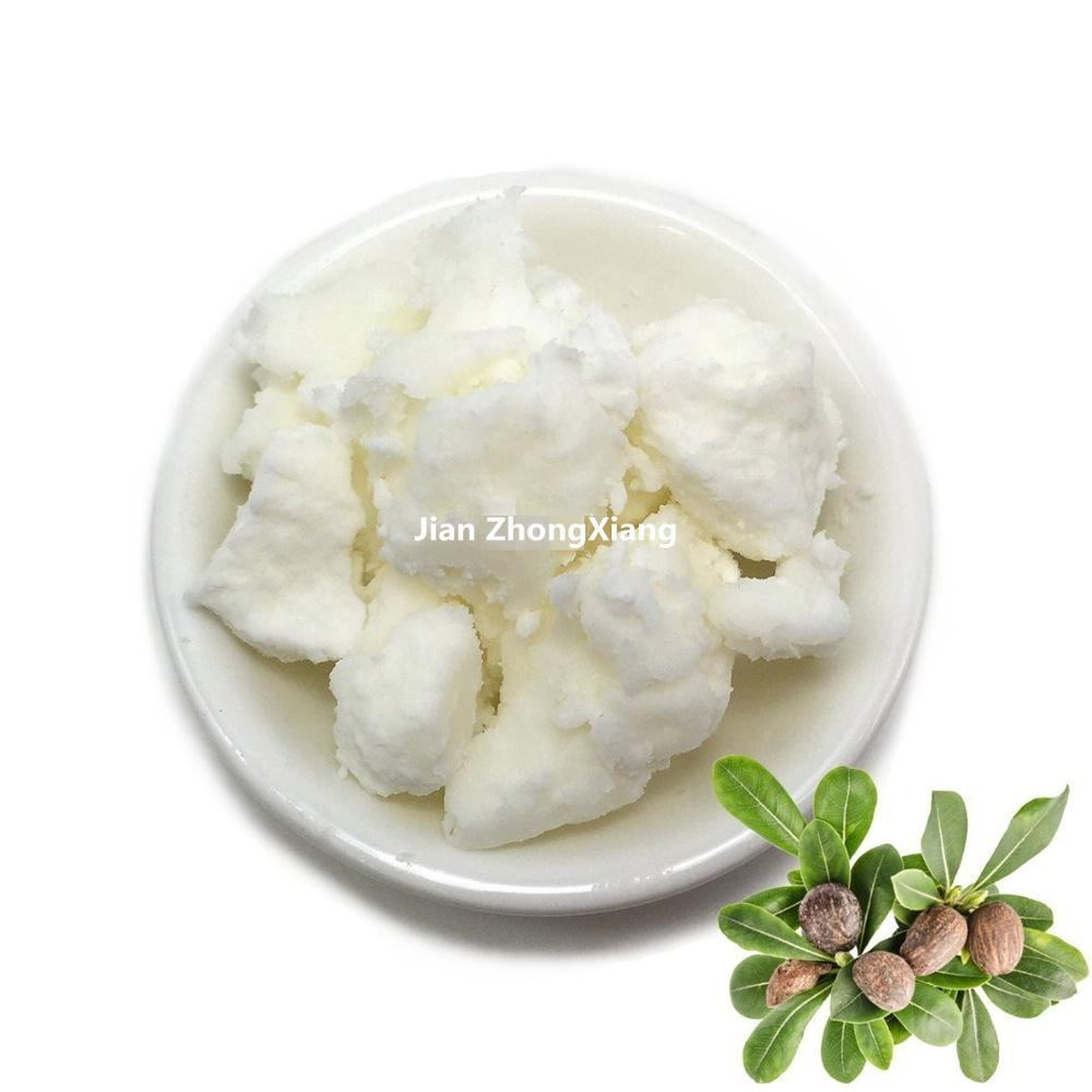 100% natural Cosmetic Additive Lipstick Raw Material Cold Pressed Shea butter for body cream lotion bulk