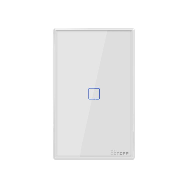 SONOFF T2 1/2/3 Gang TX Series 433Mhz RF Controlled Wifi Light Switch Smart Home Supplies UK Standard