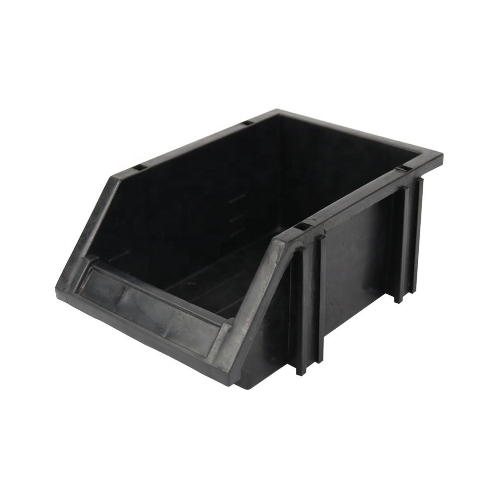 Qxr Q-UDC2 253*155*125Mm Up En Down Combinatie Type Black Plastic <span class=keywords><strong>Esd</strong></span> Open Fornt Modulaire Bin