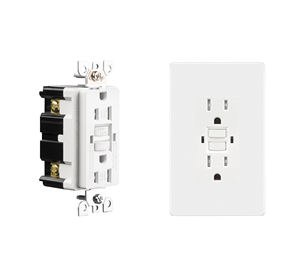 General purpose universal electric socket gfci wall outlet