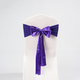 Wedding Chair Decoration Chair Cover Spandex And Satin Hotel Chair Sashes