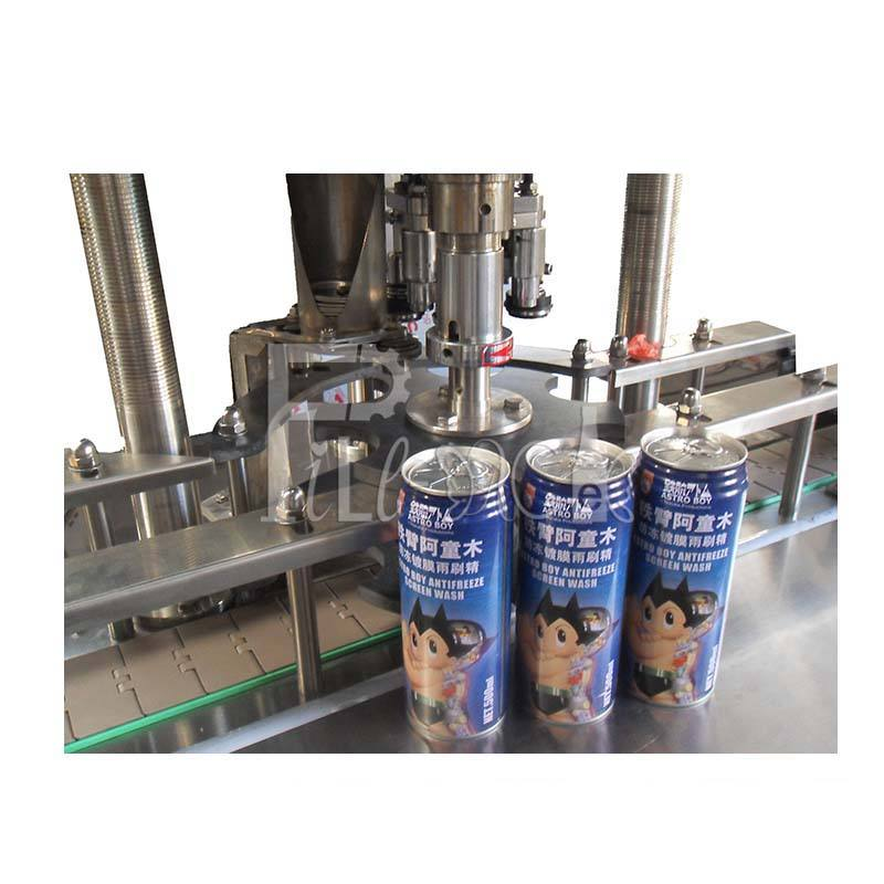 All-auto 1head Aluminum can sealing machine / line / equipment with Sealing wheel
