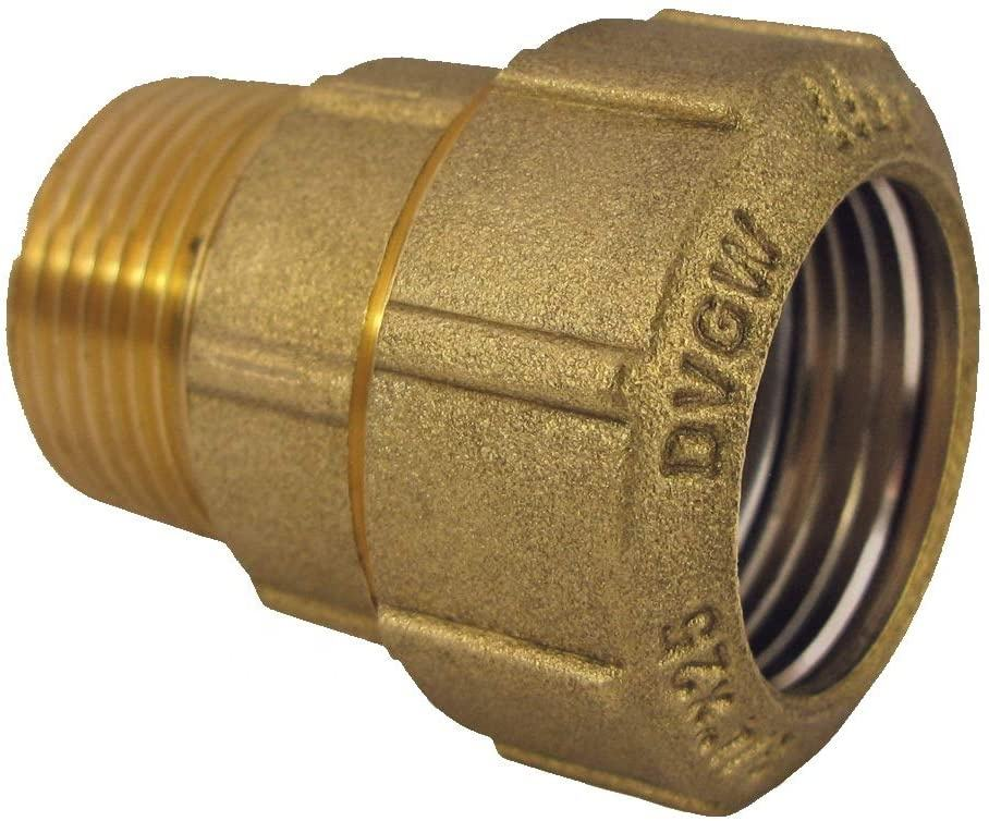 Groene Valve Brass Fitting Koppeling 32 Mm <span class=keywords><strong>X</strong></span> 1 Inch Ag (33.3 Mm) voor <span class=keywords><strong>Pe</strong></span> Pijp 32 Mm Socket Klem Connector