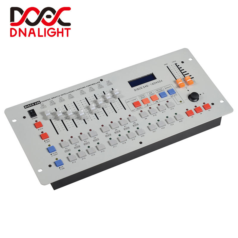 DMX 240 Controller for LED night club DJ disco stage light