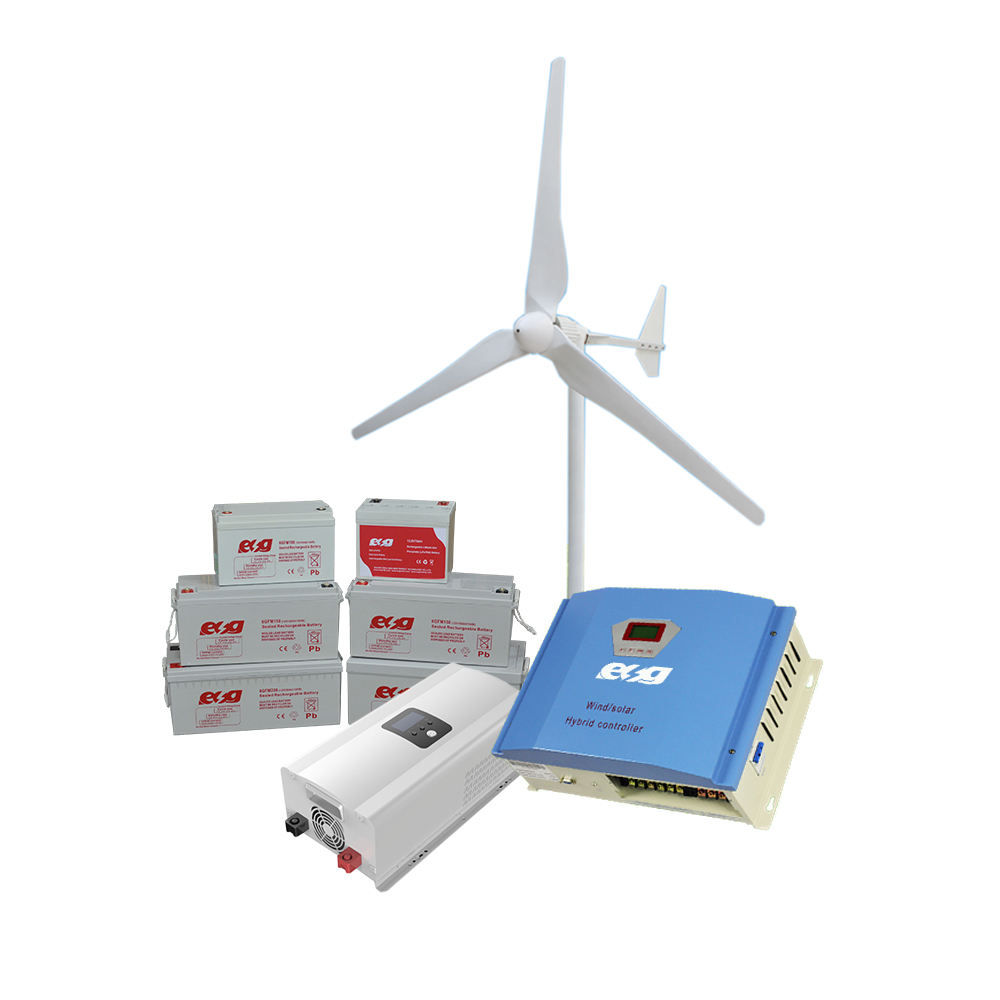 For homes wind energy systems 1kw horizontal-axis wind turbines