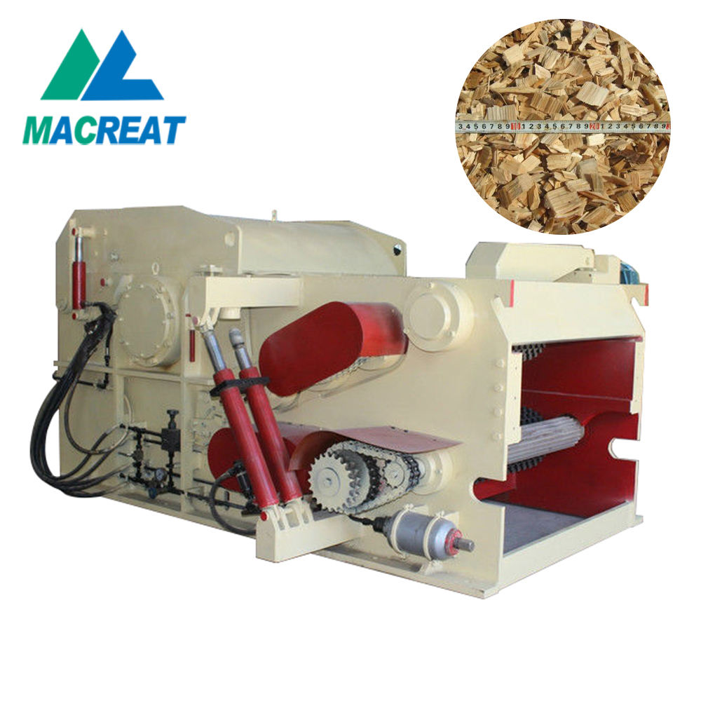 MACREAT Easy to operate Drum Wood Chipper LDBX2113 wood chipper made in china With CE For Sale