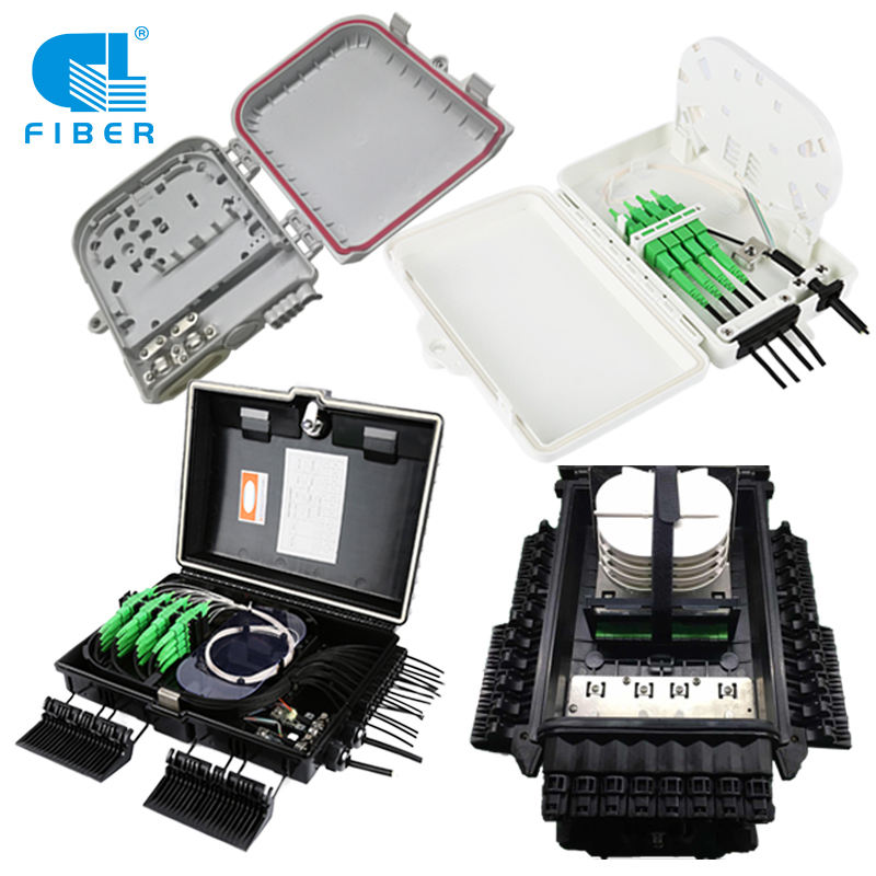 FDB equipment terminal box FTTX fiber optic terminal box 4 port fiber optic distribution box