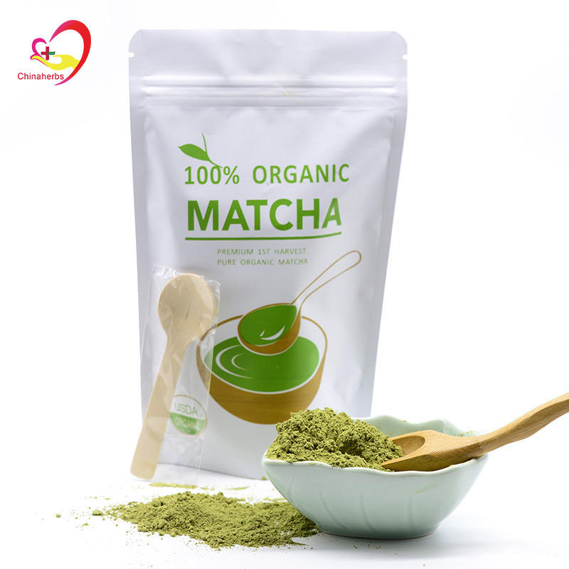 New 100% Pure Organic Natural Matcha Green Tea Powder 100g bag
