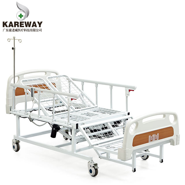 3 functions home furniture turning over electric care ICU hospital bed