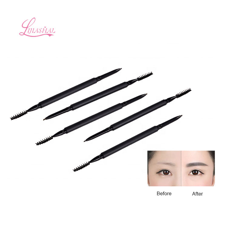 Ultra-Fine Mechanical Pencil Makeup Dark Brow Stylist Waterproof Eyebrow Pencil Draws Tiny Brow Hairs & Fills in Sparse Areas