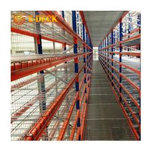 Warehouse zinc finish stable steel welded portable cold storage wire mesh stacking pallet transport decking for pallet rack