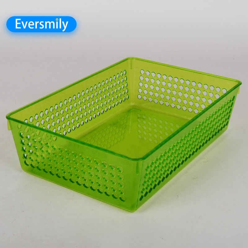 Kitchenware Cheap Price Colorful Plastic Food Storage Basket