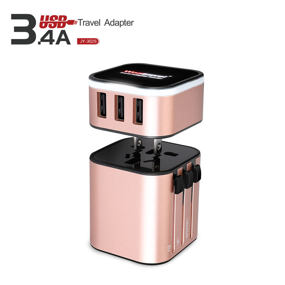 European to american plug adapter electrical switch sockets wall charger usb power adapter