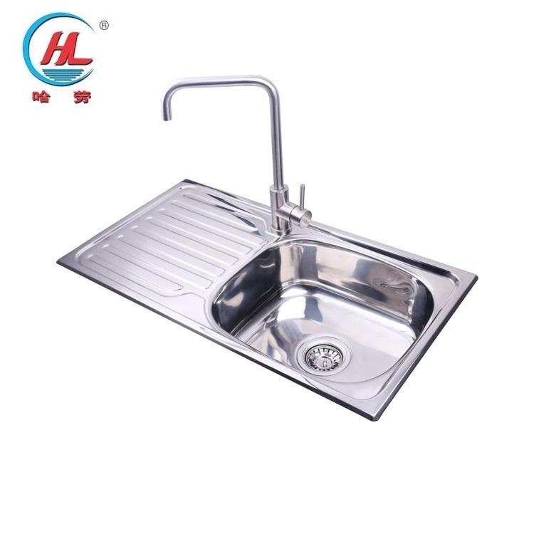 Wholesale Poland Style Stainless Steel Sink Kitchen Sink Without Faucet