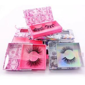 Inice top quality eyelash vendor wholesale super soft vagan faux mink full strip lashes