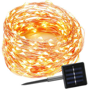 landsign 300 LED color Solar String Lights Garden Party Christmas Outdoor decoration holiday light fairy solar landscape light