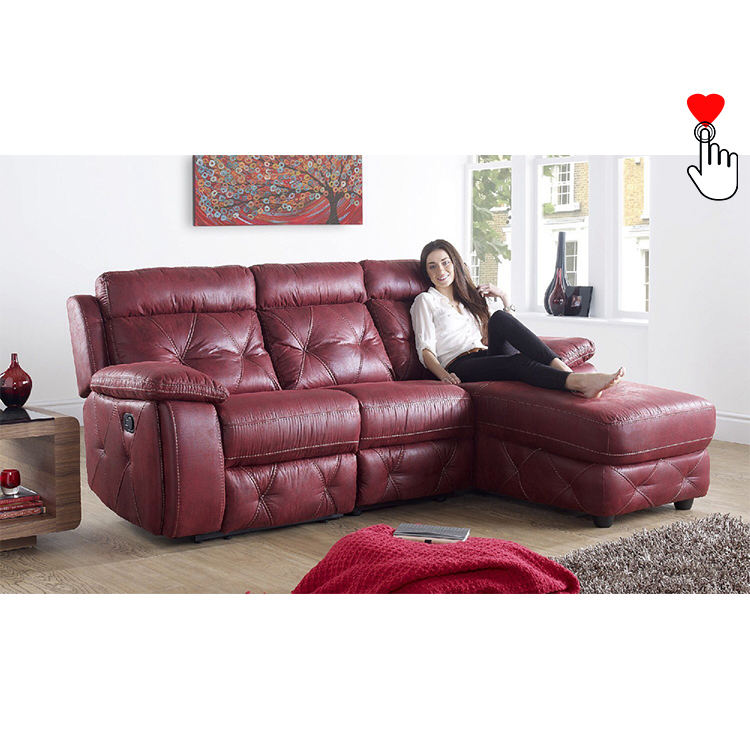 Moderate price livingroom 3 2 1 reclining sets living room recliner sofa set