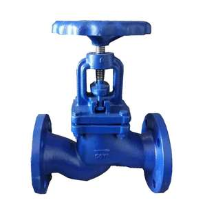 BS5152 PN16 Cast Iron Flange Rising Stem Type Globe Valve GLV502-PN16 With Handwheel
