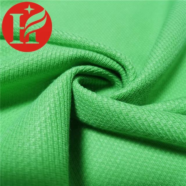Hot sale 100% polyester knitted mesh fabric for sportswear clothing