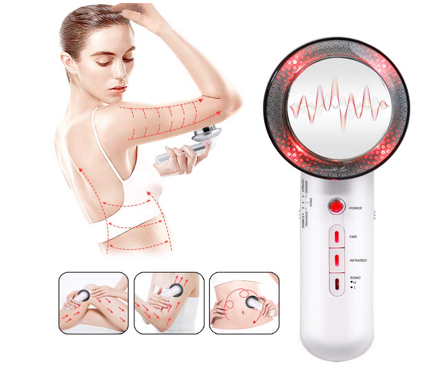 3 in1 Weight Loss Beauty Machine with Massage EMS Gel Pads for Body Skin Tighten Lifting Wrinkle Remove Postpartum repair