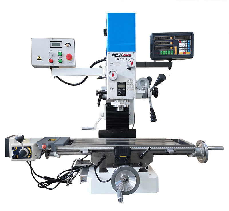 Variable speed milling machine 32mm TM32GV with brushless motor 1500W