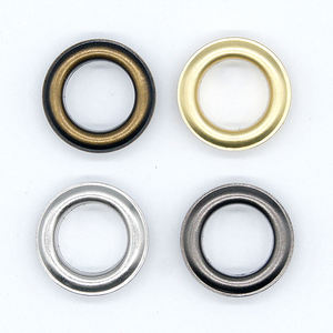 Fancy Useful Rust Free Shoes Brass Metal Eyelets For Garment