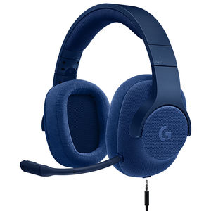 Logitech G433 7.1 Kabel Surround Sound Gaming Headset Mikrofon Blue Headphone