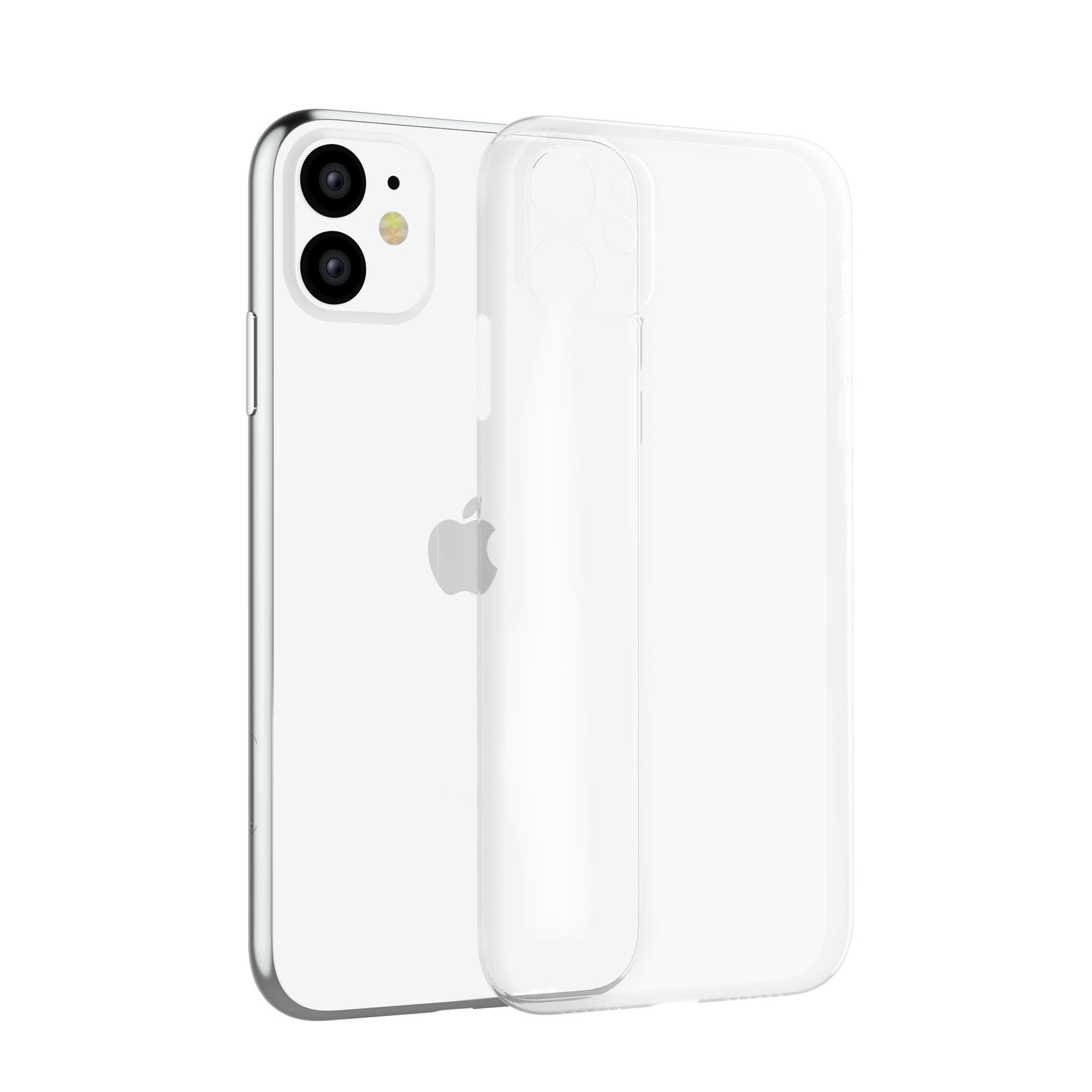 Crystal transparent cell phone accessories cover for apple iPhone 11 clear mobile phone case for iPhone 11 pro clear case