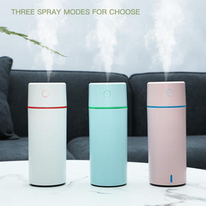 2020 LED Colorful Lights Aroma Diffuser Portable Rechargeable Mini USB Air Car Humidifier