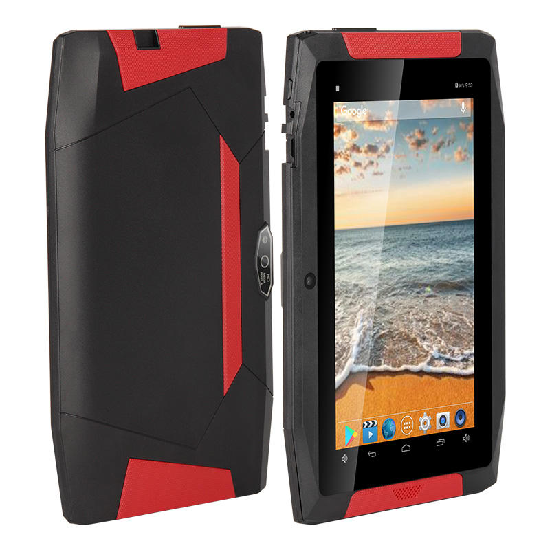 Good Quality UTAB R702 7 Inch 3G Quad Core Drop Resistance Black WiFi Rugged Tablets 7 inches android