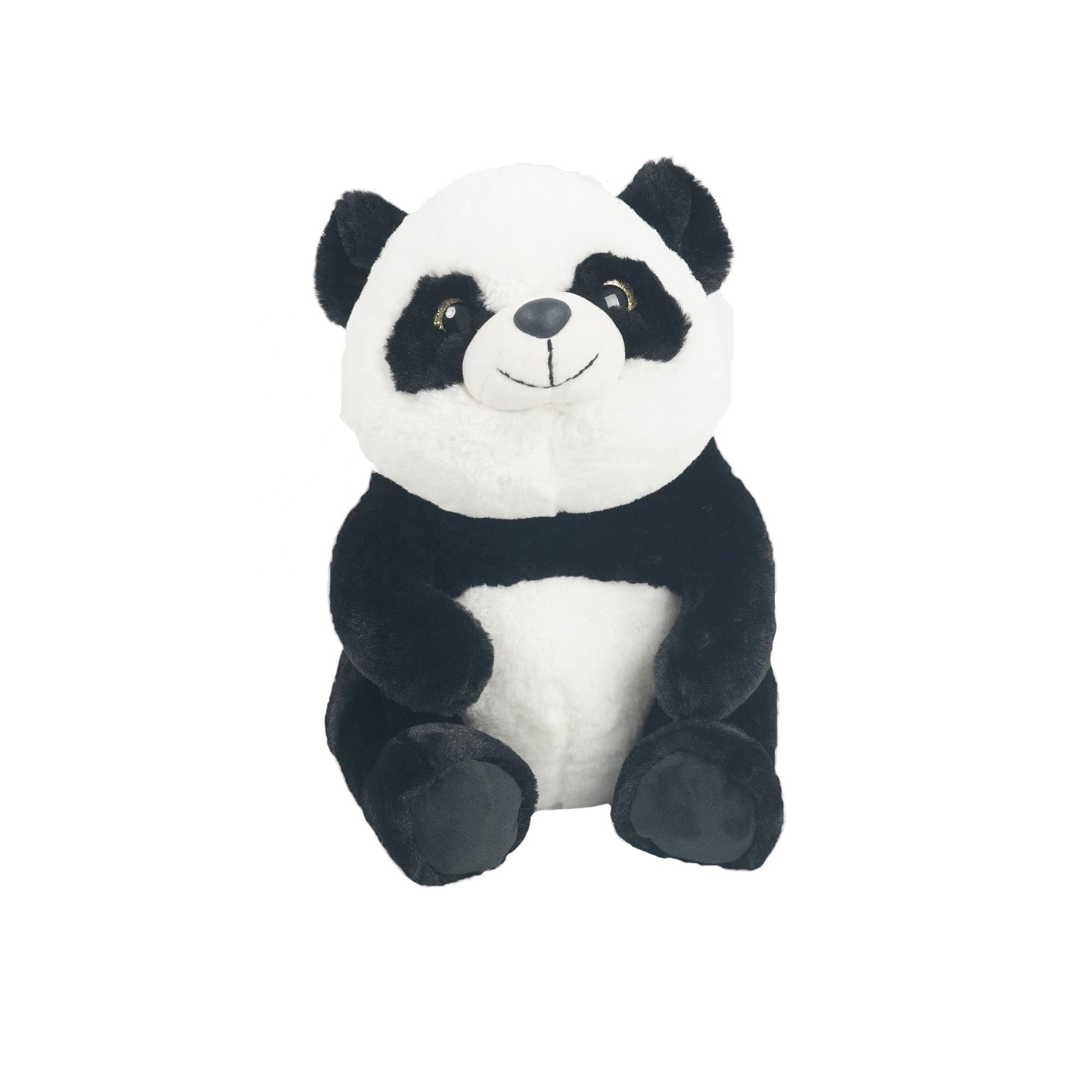 Hot Sale Plush Panda Teddy Bear Stuffed Animal Classic White and Black Soft Plush Bear Toy