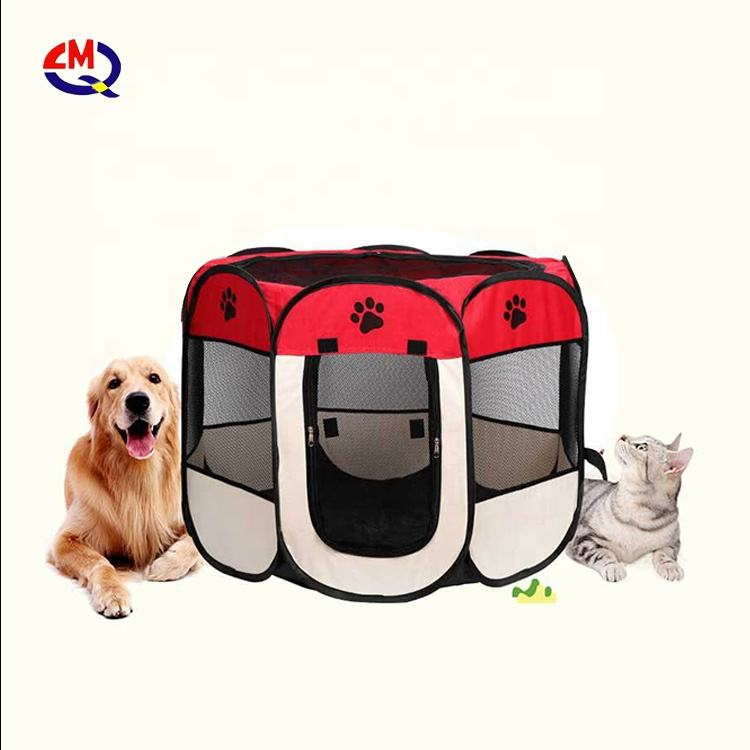 Portable Foldable Pet Playpen Indoor/Outdoor Dog/Cat/Puppy Exercise pet Kennel