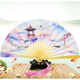 2019 Hot Selling Products Handicraft Bamboo Hand Fans for Women Dance Performance