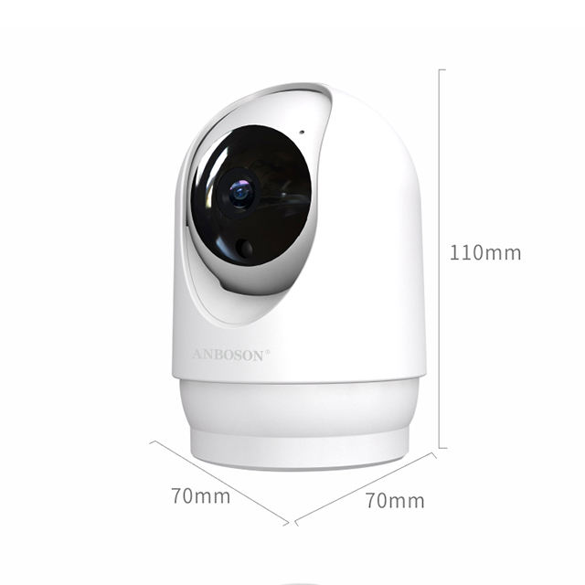 1080P Home HD 360 Smart IP PTZ CCTV Security Mini Wireless Wifi Camera with Night Vision Cloud Record