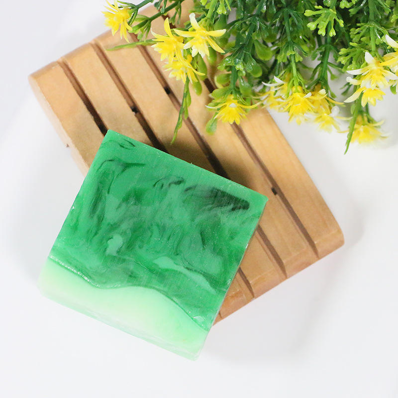 Best Selling Peppermint Plant Essential Oil Soap Exfoliating Cleansing Soap