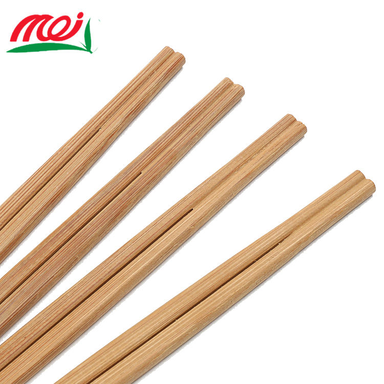 Eco-Friendly Disposable Bamboo Thick Twin Chopstick For Sushi