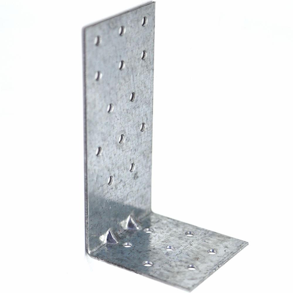 Cheap wooden house zinc plated angle bracket