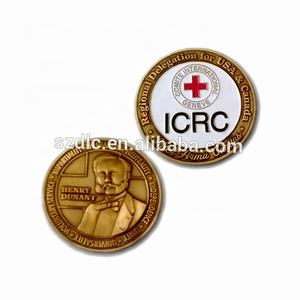 Christian School Souvenir Use Mint Proof Ram Gold Silver Euro Antique Challenge Coin