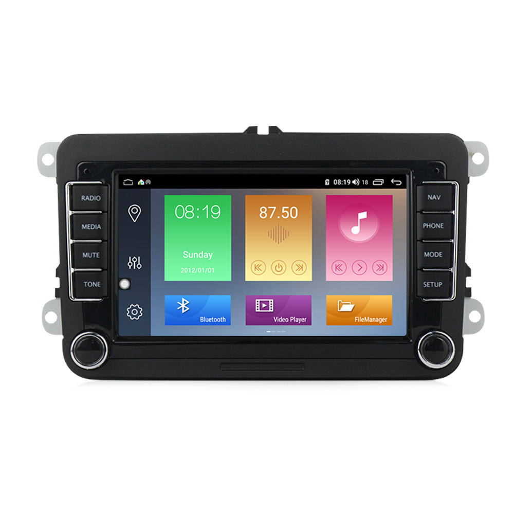 Mekede M Android 10 8core IPS DSP 2.5D Dell'automobile Dello Schermo Video Per Il VW Skoda Sedile Volkswagen B6 B7 Passat golf Polo Passat CC <span class=keywords><strong>4</strong></span> + 64g 4G
