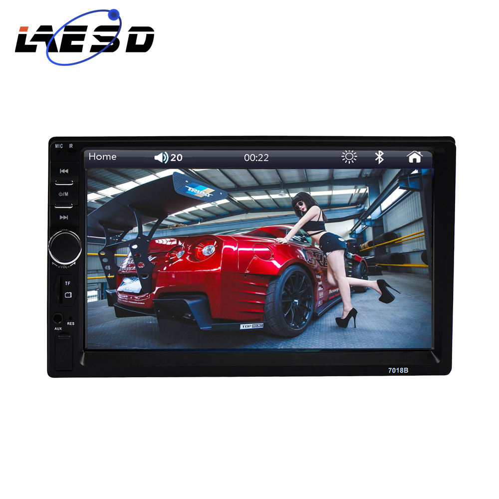 7inch 2Din Car Radio Capacitive Touch Screen 2 Din Multimedia Car MP5 Player Stereo Monitor Universal Auto Radio