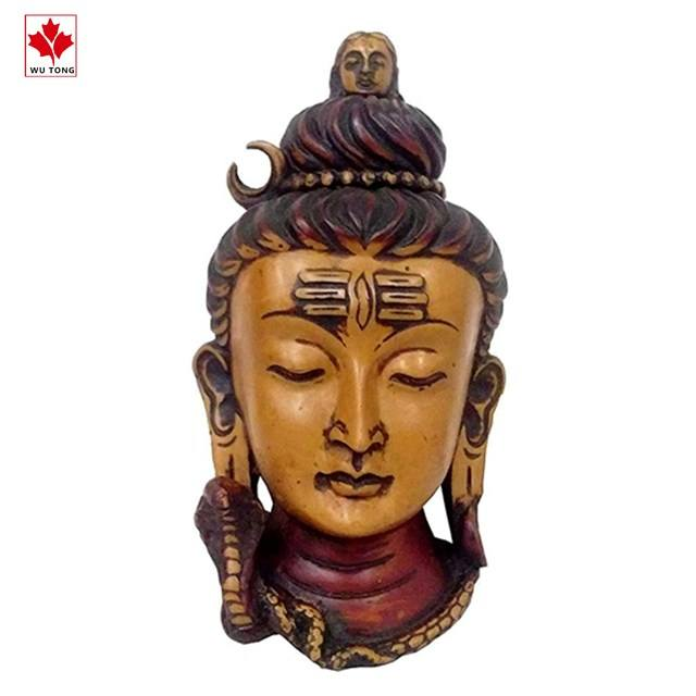 Worth Praise Resin Idol Lord Shiva (Mahadev Shiva): Wall Hanging Stone