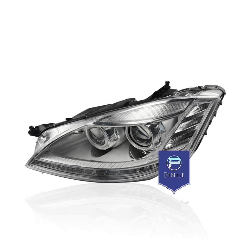 Modified headlight for 2006-2008 S class W221 upgrade to new style car front headlight assembly