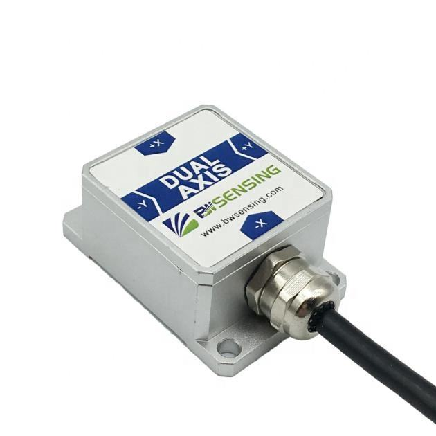 BWSENSING Dual Axis Inclinometer BWK226S Digital Output Tilt Sensor RS232 RS485 TTL Output