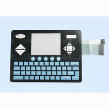 Professional manufacturer button membrane switch keyboard