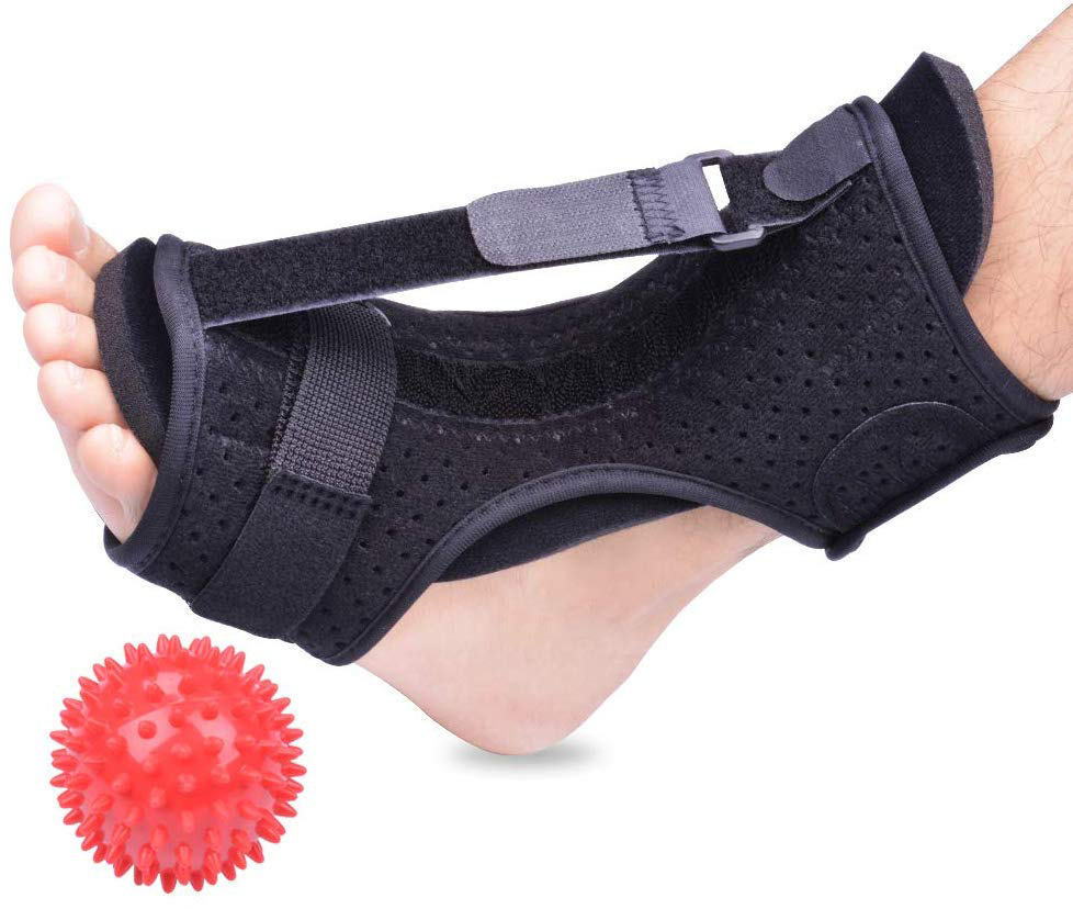 Ajustable OEM Foot Drop Orthosis Corrector Brace Ankle Support Plantar Fasciitis Ankle Strap Braces Supports