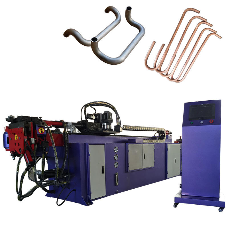 SB-38 Automatic CNC hydraulic pipe bending machine factory direct sales,Stainless steel pipe and iron pipe bending machine
